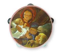 Resultado de imagen de navidad niños imagenes antiguas villancicos