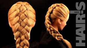 How Todo Hair Style how to do a fivestrand french braid hairstyle video tutorial 8527 by wearticles.com