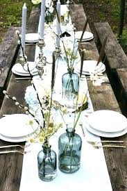Round Table Settings For Weddings Wedding Table Settings Rustic Place Setting Ideas