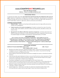 Sample Resume Security Guard Informal Business Proposal