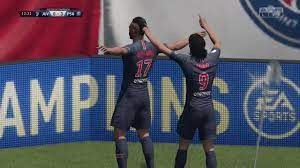 Choupo Moting amazing scorpion kick FIFA 19 - YouTube