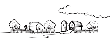 farm fence clipart black and white. Exellent Fence Graphic Black And White Coloring Book Landscape Medium Image Png  Freeuse Farm Fence Clipart  On Fence Clipart Black And White T
