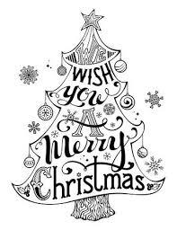 Kerst Kleurplaten Merry Christmas