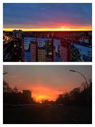 "almaniah.com ألمانيا والعالم on Twitter: ""شروق الشمس لهذا الصباح الرائع في  #برلين من موقعين مختلفين بعدة سلسلة من الأيام الباردة  http://t.co/yArP6jyaaD"""