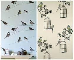 Bird design wallpaper