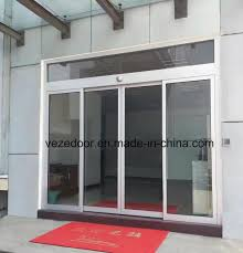 china automatic pedestrian induction door with remoter and safety beam sensor china automatic door automatic induction door