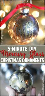 the best step by step tutorial on how to get a mercury glass finish the