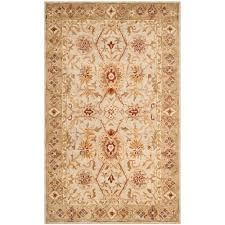 safavieh antiquity grey blue beige 6 ft x 9 ft area rug at822a 6 the home depot