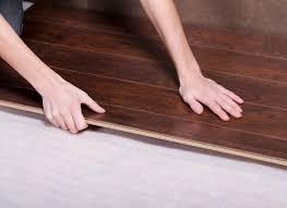 step 11continue installing standard flooring underlayment