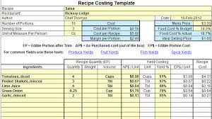 Plate Cost How To Calculate Recipe Cost Chefs Resources