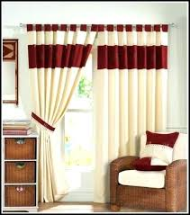 Awesome Red Living Room Curtains Pics - Home Inspirations ...