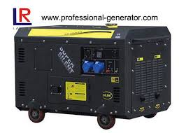 Air cooled 9 kW Super Soundproof Diesel Generator for Home Use
