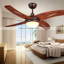 ceiling fans with lights for living room. 42inch Living Room Decorative LED Wooden Ceiling Fan Light Fans With Lights For O