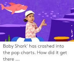 In Baby Shark Has Crashed Into The Pop Charts How Did It