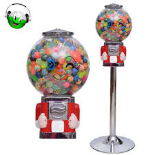 Vending Machine Candy Simple 48cm Height Pmma Material Capsulecandygumball Vending Machine