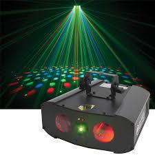 american dj galaxian gem led light laser effect