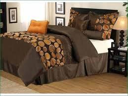 brown and orange comforter sets burnt set queen