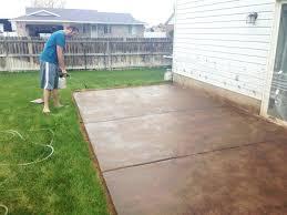 surprising painting concrete patio slab elegant concrete paint patio paint concrete patio floor home design regarding