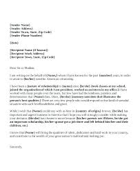 Character Reference Letter For Court Template Sample To
