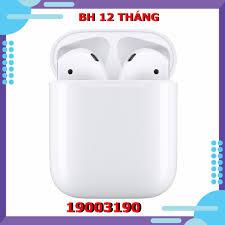 Tai nghe Apple Airpods 2 MV7N2 bản sạc có dây (Charging Case ) chính hãng  chính hãng 3,289,000đ