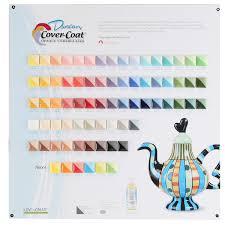 Duncan Concepts Color Chart Duncan Cover Coat Opaque Underglazes Tile Chart