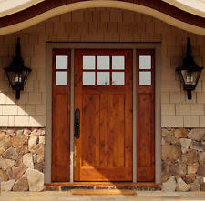 prices for entry doors with sidelights. knotty alder 6 lite craftsman entry door 3/0 x 6/8 with sidelights prices for entry doors with sidelights