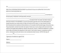 19+ Notice To Vacate Templates - Pdf, Doc | Free & Premium Templates
