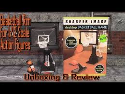 Sharper Image <b>Desktop Basketball</b> Game Unboxing, Review & And ...