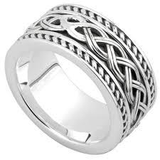 mens celtic knot wedding bands. celtic ring - men\u0027s sterling silver ancient knot band mens wedding bands