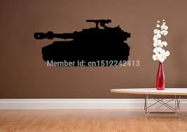 Big Tank Boys Army Military Bedroom Wallpaper Wall Art Decals Home  Decoration Living Room Decorative Wall Sticker In Wall Stickers From Home U0026  Garden On ...