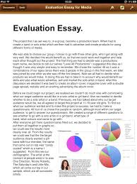 evaluation essay how to write an evaluation essay org evaluation essay ppt view larger