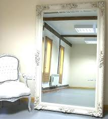 white leaning floor mirror. Giant Mirror Design In Space Extra Large Floor Inside Mirrors Prepare 7 White Leaning R