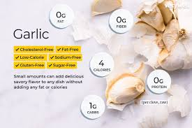 Garlic Nutrition Facts Calories Carbs And Health Benefits