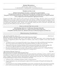 First Year Teacher Resume Examples Best Of Education On A Resume Examples Teacher Resume Examples Awesome