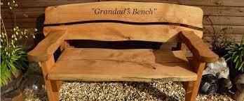rustic wooden outdoor furniture. Rustic Garden Bench Wooden Outdoor Furniture D