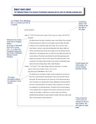 Annotated Y Example Apa Style Template Format Using Sample Bibliography