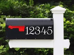 custom mailbox. Custom Mailbox Stickers