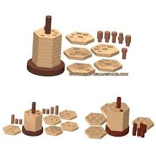Wooden Games Plans stacker puzzle plan 2
