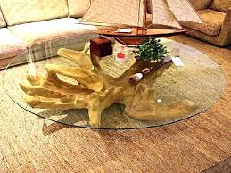 how to make a coffee table from a tree stump how to make a coffee table