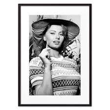 Купить <b>постер в рамке</b> Софи Лорен 30 х 40 см <b>Дом</b> Корлеоне ...