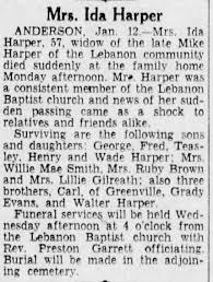 Obituary for Ida Harper (Aged 57) - Newspapers.com