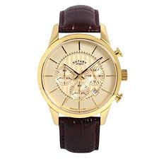 rotary mens watches uk watches store part 4 rotary men s quartz watch gold dial chronograph display and brown leather strap