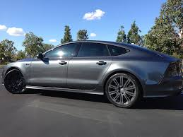 audi a7 blacked out. attached images audi a7 blacked out