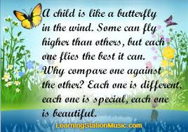 Beautiful Quotes For Children Best of Inspirational Quote Parenting The Learning Station Blog