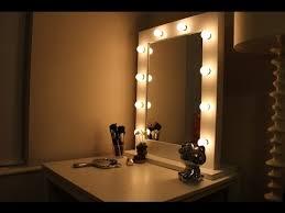 mirrored lighting. Vanity Mirror With Lights Ikea Mirrored Lighting S