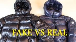 how to spot a fake moncler jacket real vs fake authentic vs replica moncler maya jacket you