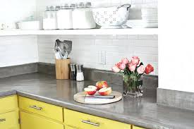 formica laminate finishes absolutely concrete over laminate d i y a beautiful mess com existing tile overlay granite overhang formica laminate