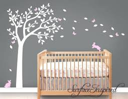 tree wall decal for nursery as well as zoom white tree wall sticker nursery uk rrr