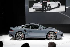 porsche 911 turbo 2016. facelifted porsche 911 turbo and s 2016