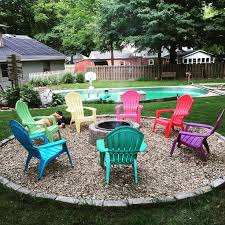 66 Fire Pit And Outdoor Fireplace Ideas  DIY Network Blog Made  Backyard Fire Pit Area